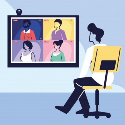 homme-utilisant-ordinateur-pour-reunion-virtuelle-videoconference-travail-distance-technologie_24911-59463